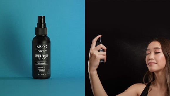 Finish off your makeup with the NYX Professional Makeup Setting Spray.