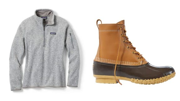 Layering and wearing shoes with good traction can help you stay comfortable in the winter.