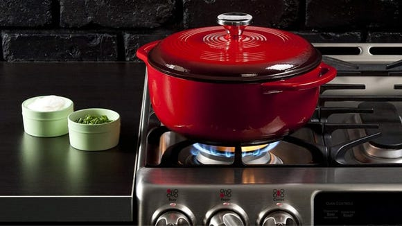 We were seriously thrilled with this affordable Dutch oven in testing.