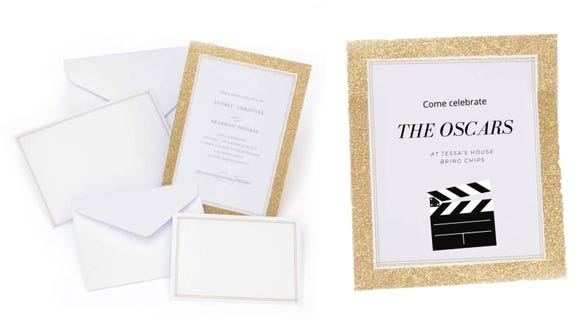 """Yes, these are wedding invitations and not Oscars party invitations, but surely there's a """"Marriage Story"""" joke to be made here?"""