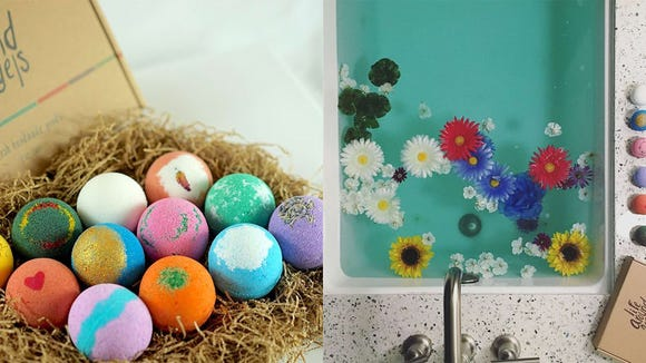 Relax and unwind with the LifeAround2Angels Bath Bombs.