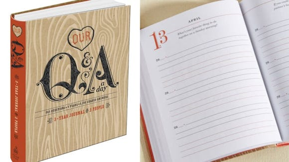 This journal has three years worth of cute prompts.