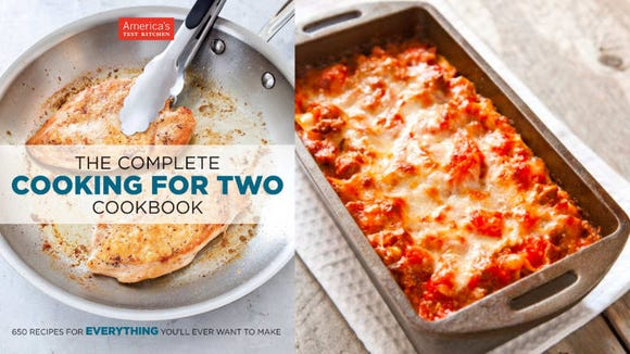This cookbook has hundreds of delicious recipes for two.