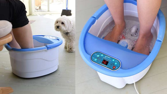 Best Valentine's Day gifts for yourself: Ivation Foot Spa.