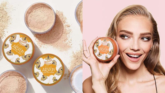 Set your foundation down with the Coty Airspun Loose Face Powder.