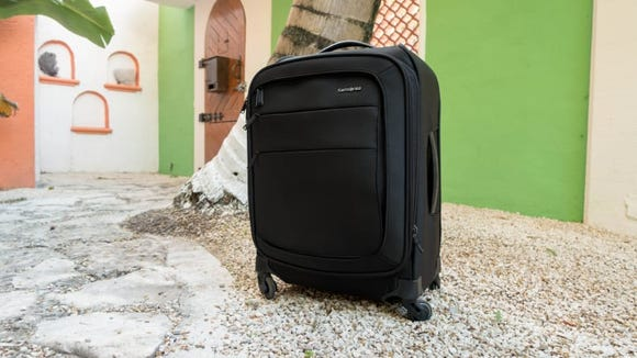 "Pack light with the Samsonite Flexis 21"" Spinner."