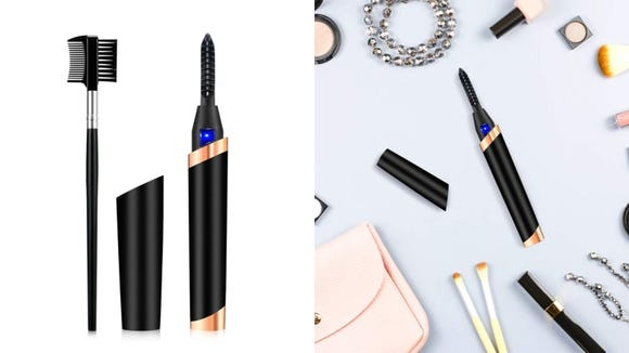 Give your lashes a boost with the WU-MINGLU Heated Eyelash Curler.