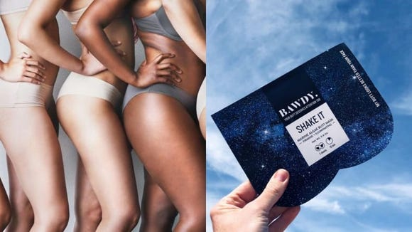 The Bawdy Butt Mask claims to improve the texture of your skin.