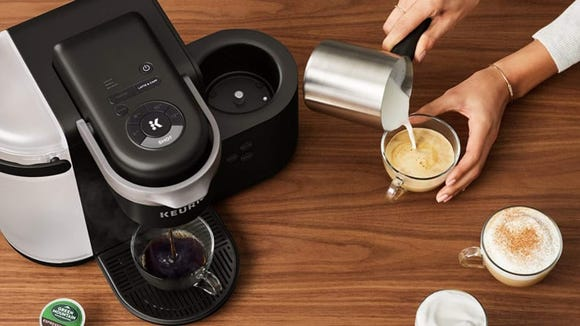 Brew a better cup of coffee with the K-Cafe.
