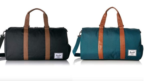Whether you're heading to the gym or a short vacation, you'll be thankful for this Herschel.