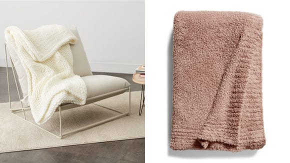 You could use another throw blanket.