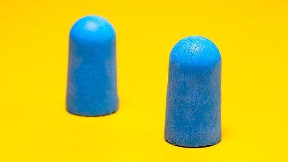 Block out your noisy neighbors with the Hearos Xtreme Ear Plugs.