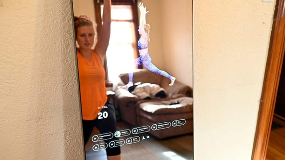 The Mirror makes it easy to get your cardio in each day.