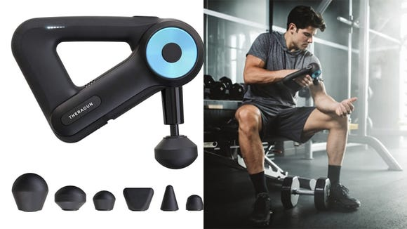 The massage gun that everyone's talking about is finally on sale