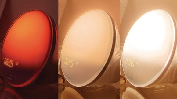 Let the Philips Wake-Up Light Therapy Alarm Clock gently wake you up each morning.