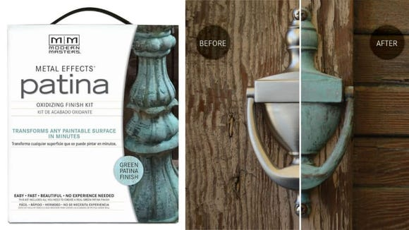 Create an aged patina finish on just about any item.
