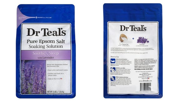 Upgrade your bath with Dr. Teal's Pure Epsom Salt.