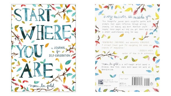 Take the pressure away from journaling with the Start Where You Are: A Journal for Self-Exploration.