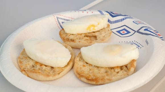 Have you ever seen such perfectly cooked eggs?