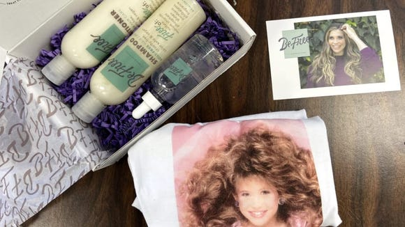 Hair products by Be Free by Danielle are vegan and cruelty-free.