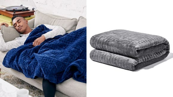 Snuggle up with the Gravity Blanket.