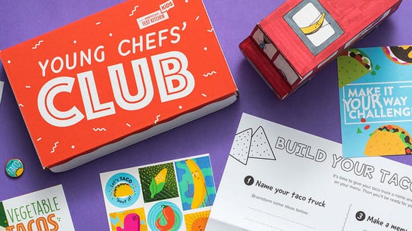 Young Chefs' Club will get kids excited about cooking!