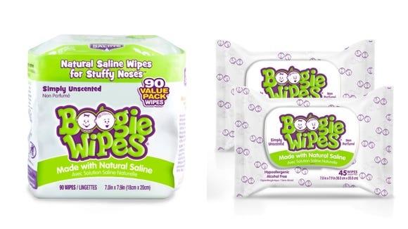 Kids and grown-ups alike can benefit from these saline wipes.