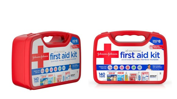It's always a good idea to have a first aid kit handy.