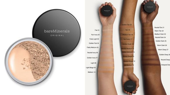 Not a big fan of liquid foundations? Go with the BareMinerals Original Foundation Broad Spectrum SPF 15.