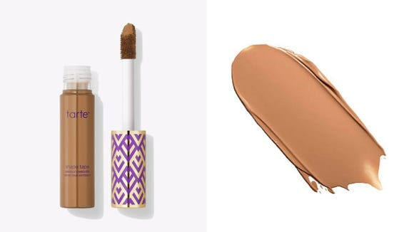 Erase your blemishes with the Tarte Shape Tape Concealer.