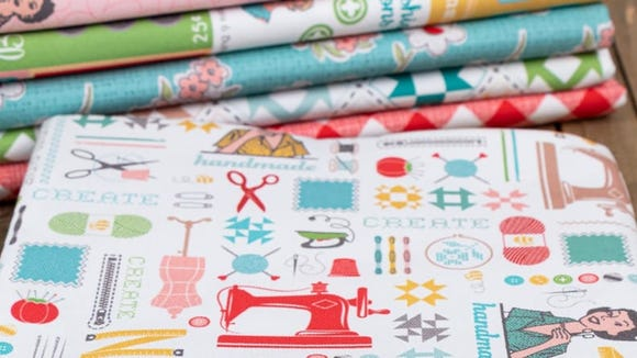 Get started with quilting by using one of these kits.