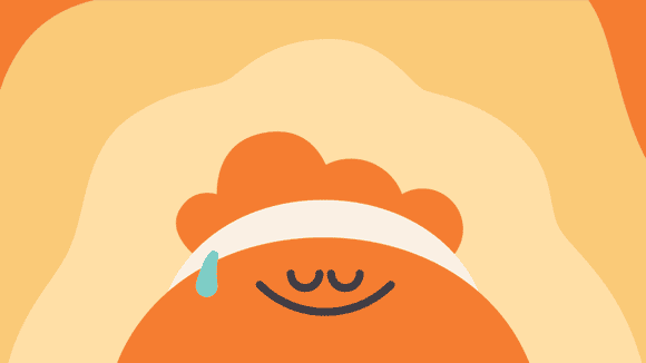 Meditate with the Headspace app.