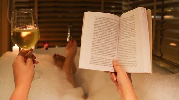 Grab your latest read and head to the tub.