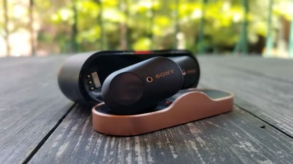 Sony's WF-1000XM3 true wireless earbuds give you class-leading noise cancellation.