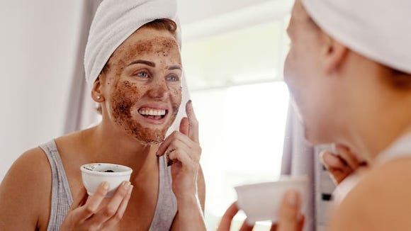 You only need a gentle scrub to exfoliate.