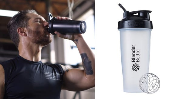 Blender Bottles come in all different sizes and colors.