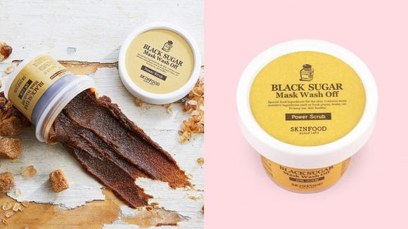 Treat your skin with the Skinfood Black Sugar Mask.