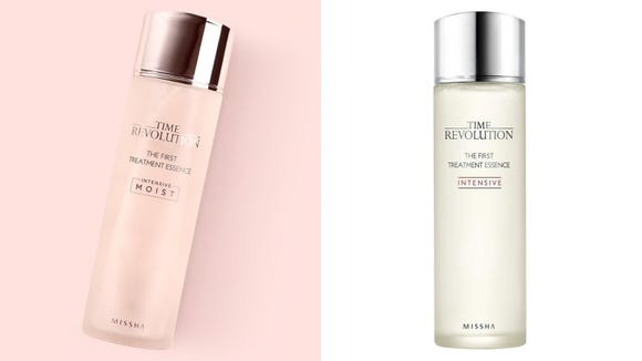 Consider the Missha Time Revolution First Treatment Essence Intensive Moist your new anti-aging weapon.