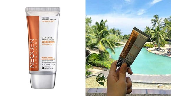 Protect your skin from the sun with the Neogen Dermalogy Day-Light Protection Sunscreen SPF 50 PA+++ .