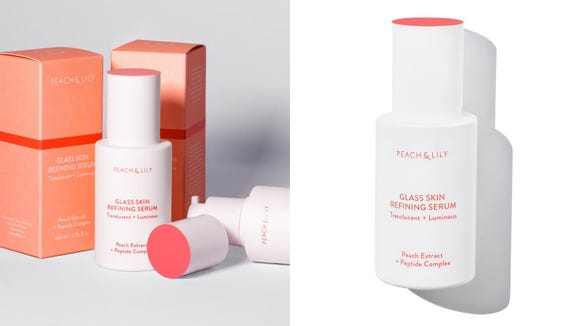 Brighten your skin with the Peach & Lily Glass Skin Refining Serum.