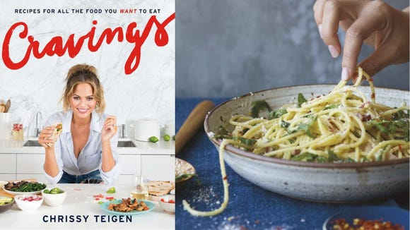 "Chrissy Teigen's ""Cravings: Recipes for All the Food You Want to Eat"""