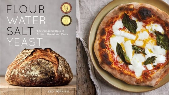 "Ken Forkish's ""Flour Water Salt Yeast: The Fundamentals of Artisan Bread and Pizza."""