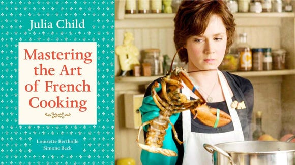 "Julia Child's ""Mastering the Art of French Cooking."""