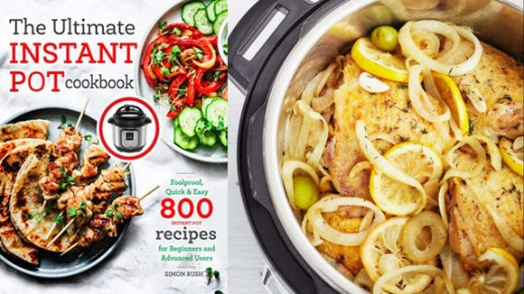 "Simon Rush's ""The Ultimate Instant Pot Cookbook."""