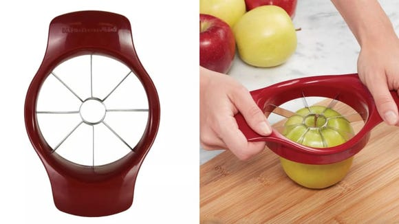 Fresh, even apple slicers can be yours with this corer.