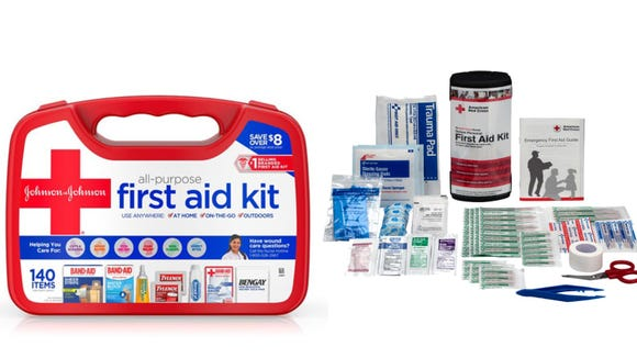 Keeping a first aid kit around helps heal household injuries.