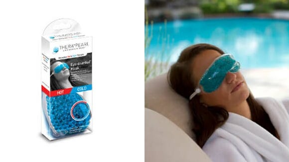 This eye mask helps soothe headaches and eye strain.