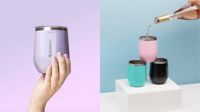 Best Mother's Day gifts: Corkcicle Triple-Insulated Stemless Glass