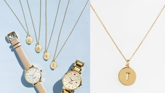 Best gifts for girlfriends: Kate Spade necklace