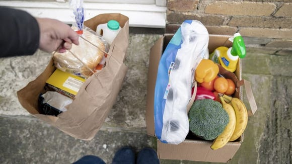Avoid the store with a grocery delivery service.